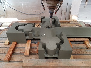 Packer Memorial Church Cross in Production