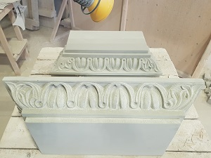 Carved Pilaster Caps
